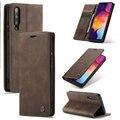 Для Samsung A50 50 чехлы с откидной крышкой на магните Чехол-бумажник с карманами для карт дизайн бизнес в виде старинного переплёта для Galaxy A50
