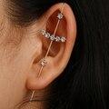Emmaya Einfachheit Stil Neue Heiße Zirkonia Kristall Stud Ohrringe Zubehör für Frauen Mädchen Hochzeit Party