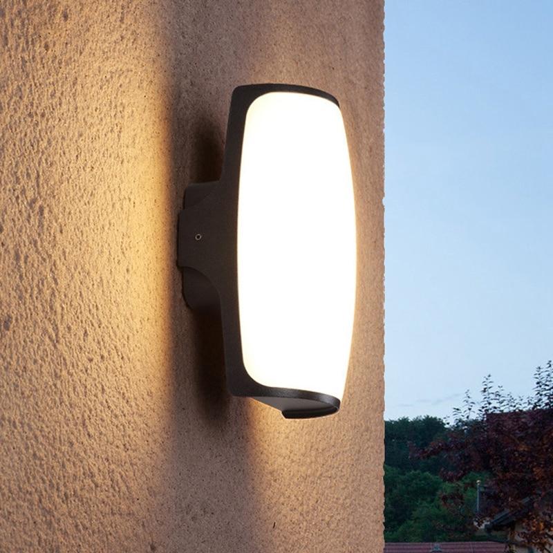 Outdoor Wall Lamp Waterproof LED Garden Lamp Aisle Corridor Outdoor Balcony Porch Light Terrace Lamp