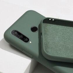 На Алиэкспресс купить чехол для смартфона skin-friendly case for huawei p smart 2020 y8p y8s y9s y6s y6p y5p liquid silicone cases for huawei p smart 2020 soft tpu cover