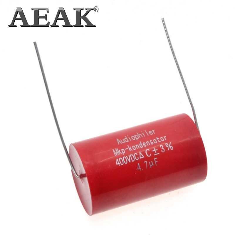 AEAK Audiophiler צירי MKP 250V 400V 630V DC HIFI DIY אודיו כיתה קבלים לגיטרת אמפר צינור