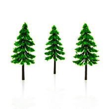 20pcs 8cm model green trees toys scale miniature color tasson plants for diorama architecture forest garden scenery layout kits