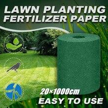 Mat Garden-Supplies Carpet Seed-Starter Grass-Seed Planting-Mat Biodegradable Lawn 201000cm