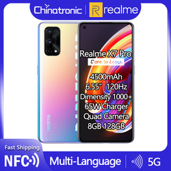 realme X7 Pro 8GB 128GB 5G Mobile Phone Dimensity 1000 6.55