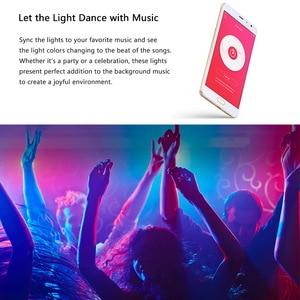 Image 4 - Yeelight חכם אור רצועת בתוספת 1M להארכה LED RGB צבע רצועת אורות עבודה Alexa גוגל עוזר חכם בית אוטומציה