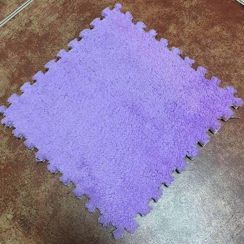 10/20PCS 30*30cm Carpet Living Room Bedroom Children Kids Soft Magic Patchwork Jigsaw Splice Heads Climbing Baby Crawing Mat 20