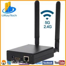 MPEG4 H.264 wifi HDMI к IP видео передатчик HEVC живой широковещательный кодер H.265 H.264 беспроводной H264 H265 кодер с RTMP RTMPS