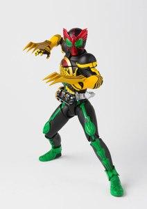 "Image 2 - 100% Original BANDAI Tamashii Nations SPIRITS S. h. figuarts (SHF) Action Figure Masked Rider OOO TaToBa Combinação de ""Kamen Rider OOO"""