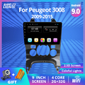 2din Android 9,0 автомобильное радио для Peugeot 3008 Автомобильный мультимедийный плеер авторадио 2009 2011 2012-2015 автомобильный DVD плеер GPS навигация