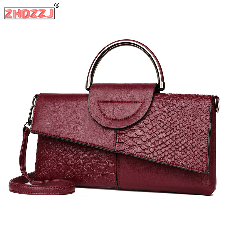 Fashion Women Day Clutches Alligator Leather Handbag Crossbody Bag For Women Messenger Bags Shoulder Bags Evening Party Bags