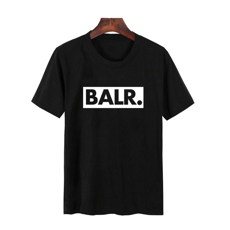 New BALR T Shirts Hip Hop Mens Designer Tshirt Fashion Men Short Sleeve Large Size T-Shirts