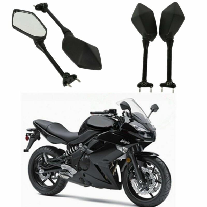 Мотоциклетное боковое зеркало заднего вида для Kawasaki NINJA 650R ER6F ER-6F 2009-2016 400R 2010-2014 NINJA 1000 Z1000SX 11-14