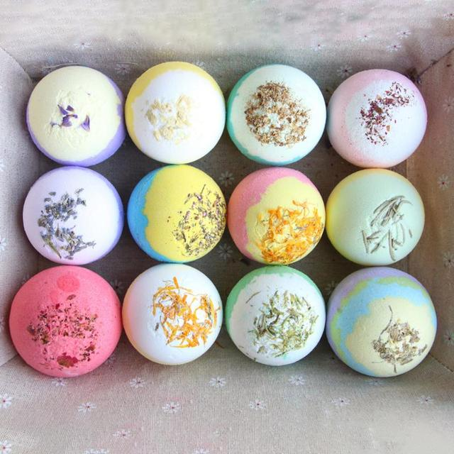 Bath Salt Ball Lightness and Portability No Space Occupy Ease Shower Bomb Bubble Moisturize Exfoliating Soap Essential Oil 2