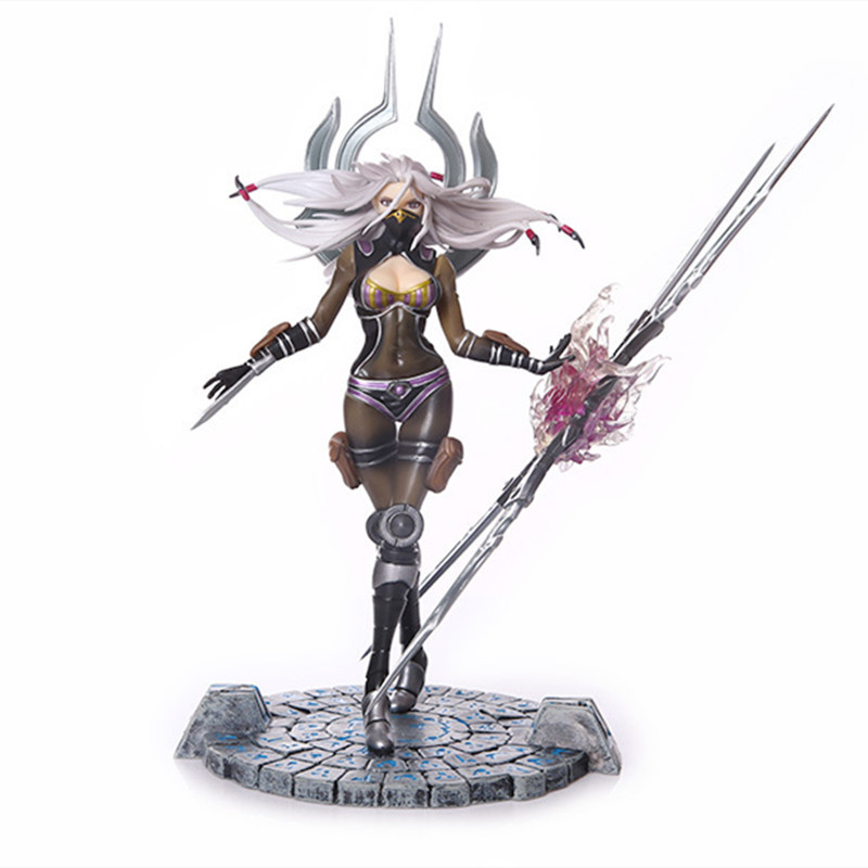 25cm Lol Irelia Figure League Of Legends Action Toy Figures Pvc Statue Model High Quality Gifts Figures