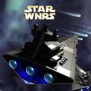 Image 3 - 81029 STAR WARS Imperial Star Destroyer ULTIMATE COLLECTOR Building Blocks Bricks Compatible lepinglys 10030 Birthday Gift Toy