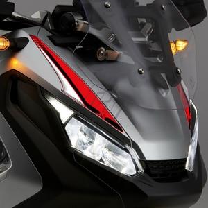 Image 5 - Para honda X ADV 750 xadv 2017 2020 scooter frente carenagem adesivo