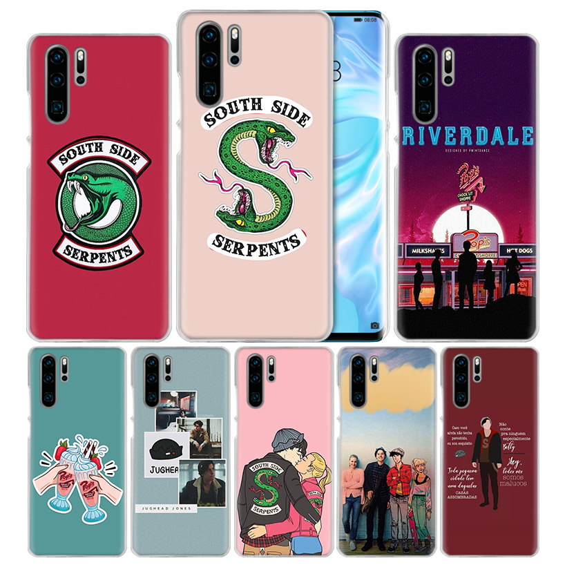 <font><b>Case</b></font> Cover For <font><b>Huawei</b></font> Honor 8X 8C 8A 8S 9X <font><b>10</b></font> 20 20i V20 Play Y5 Y6 Y7 Y9 Prime <font><b>Lite</b></font> Pro 2018 2019 <font><b>Riverdale</b></font> TV South Side Serpe image
