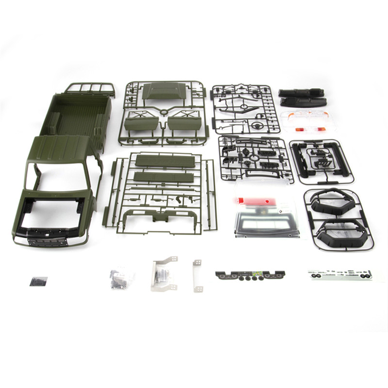 Killerbody LC70 48722 MARAUDER  Land Cruiser 70 hard RC Carbody shell kit fit for TRX4 Axial SCX10 chassis Vehicle Toy