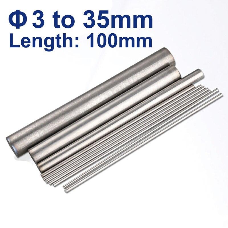 Length 50cm 5 pcs Titanium Ti Grade 1 Gr.1 GR1 Metal Rod Diameter 3mm