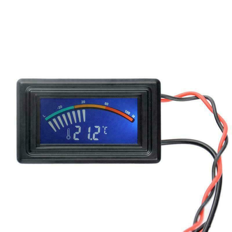 Digital Thermometer Temperature Meter Gauge G1//4 for PC Computer Water Cooling