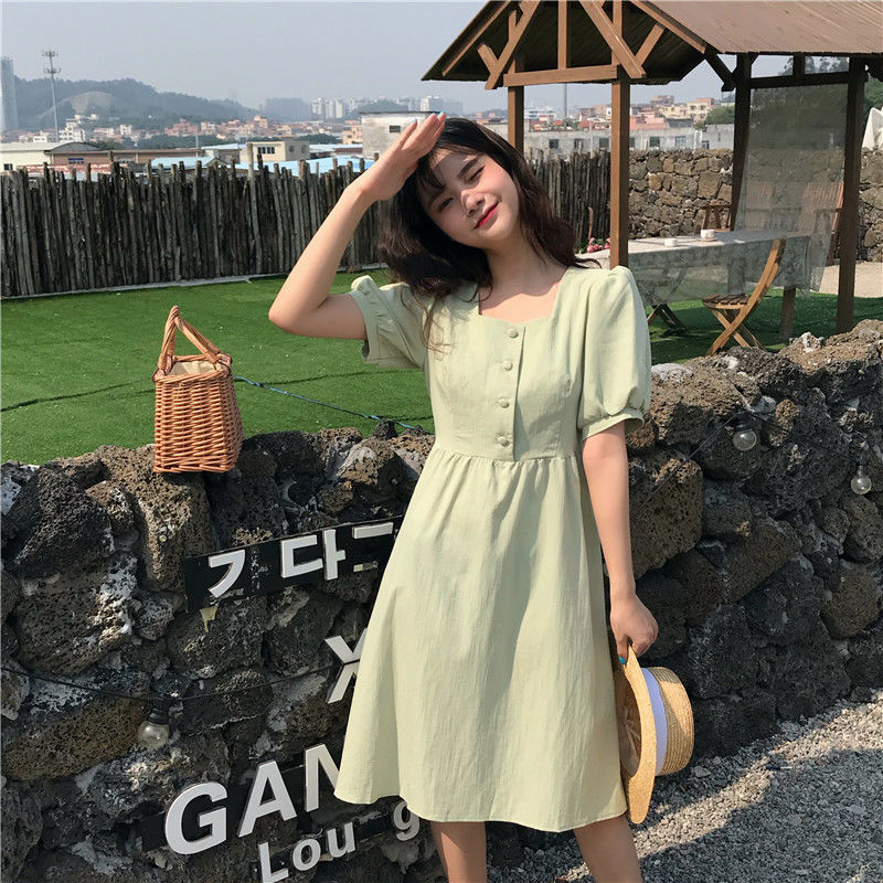 Japanese academy summer sweet lovely dress suitable for outdoor outing dress girlfriend Harajuku retro Princess Dress 5