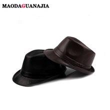 Новинка 2020 модные фетровые шляпы из натуральной кожи для мужчин