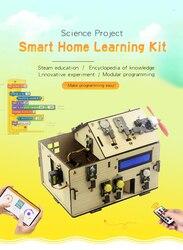 Keyestudio Smart Home, Casa Intelligente Kit Con più Board Per Arduino Fai Da Te STAMINALI