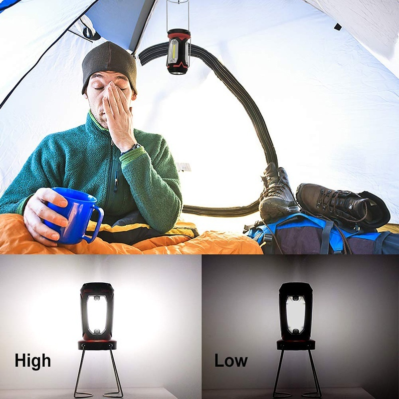 Image 5 - Multifunction Rechargeable COB Work light LED Flashlight Camping light 6 lighting modes Deformable Fancy lighting with USB cableLED Flashlights   -