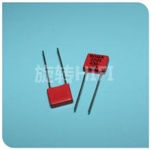 20PCS NEW RED WIMA MKP2 2200PF 630V PCM5mm 630V2200pf MKP 2 2.2NF 2N2 222/630V 222 Audio hot sale