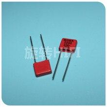 20PCS החדש אדום WIMA MKP2 2200PF 630V PCM5mm 630V2200pf MKP 2 2.2NF 2N2 222/630V 222 אודיו מכירה לוהטת