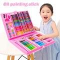 42/86 stücke Zahl Nicht Toxics Buntstifte Set Einfach zu Halten Farbe Stift Sicher für Kinder Kid Junge Mädchen Wasser-farbe Stifte Büro Liefert Stift
