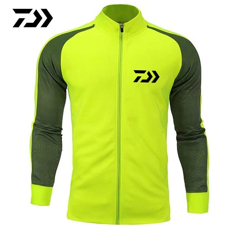 daiwa 2020 primavera outono roupas jaqueta de pesca suporte pescoco retalhos esporte confortavel termica acampamento ao