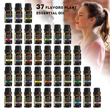Sweetvally 37Pcs/Set Aroma Oil Natural Plant Enhancement Essential