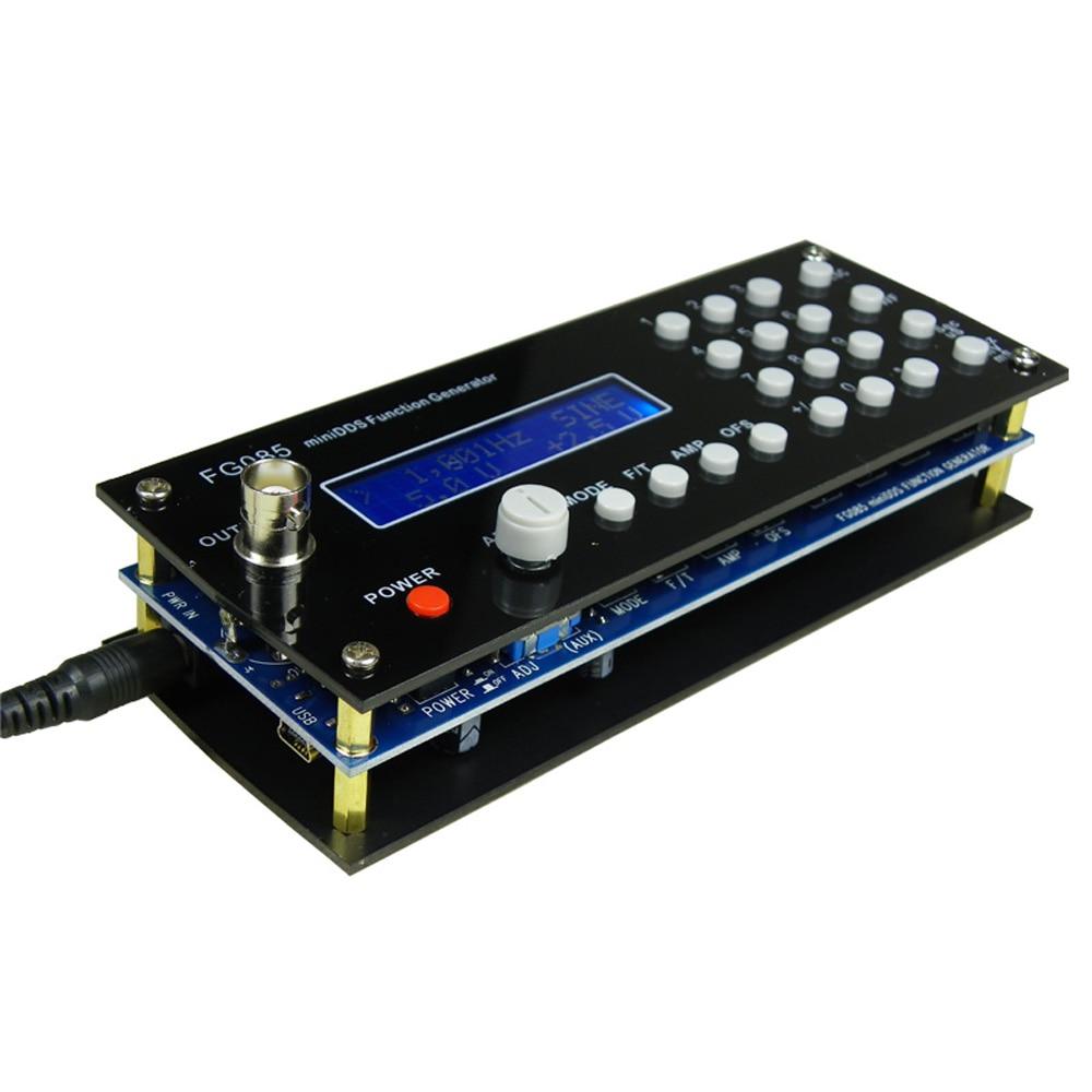 HHO-générateur de Signal de synthèse numérique dds fonction générateur de signal kit de bricolage + panneau sinus carré en dents de scie Triangle-onde generador