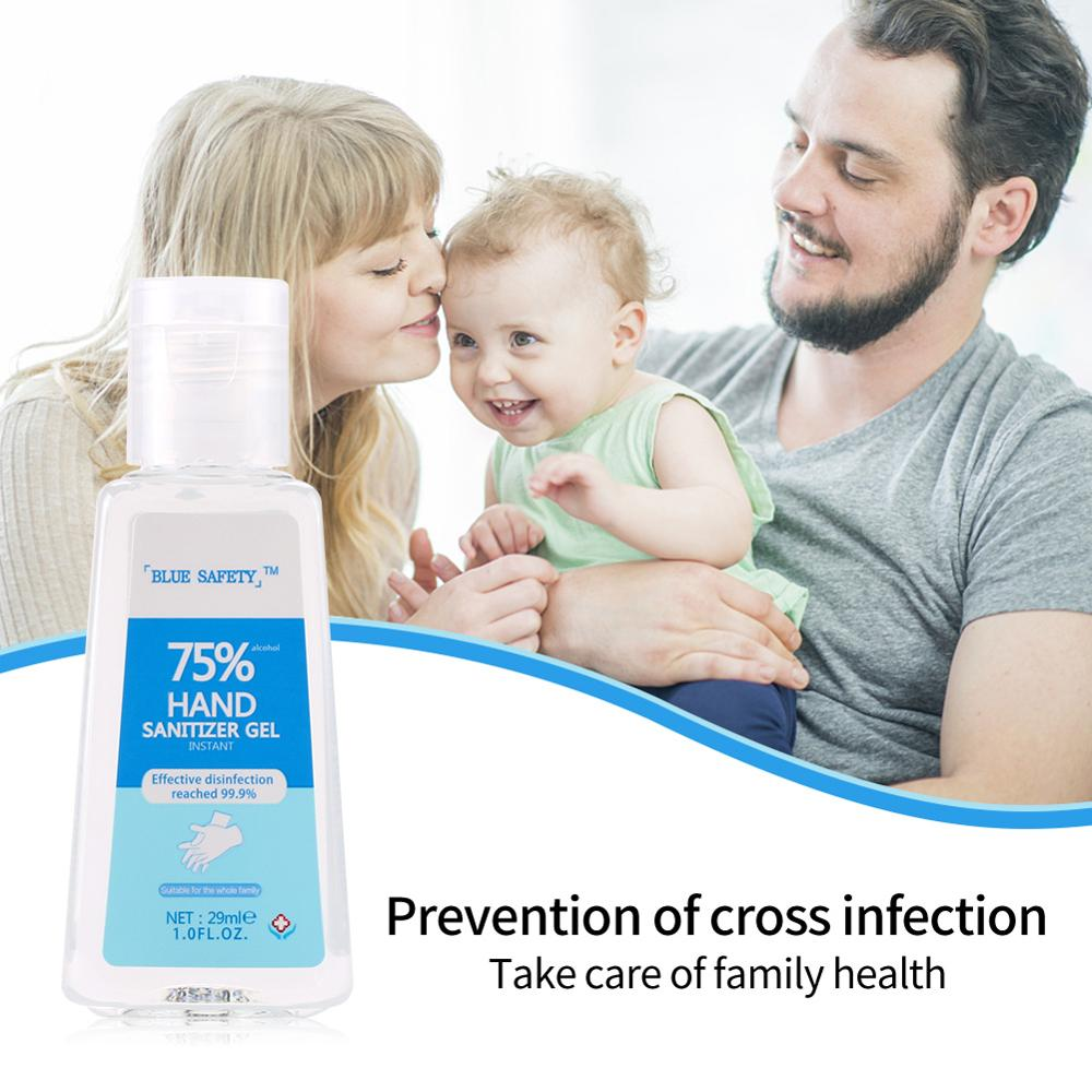 Hand Sanitizer Portable Antibacterial Hand Sanitizer Alcohol Disinfectant Bacteriostatic Hand Sanitizer Gel Wipe Out Bacteria