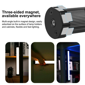 Image 5 - PULUZ RGB Handheld LED Light Wand Rechargeable Photography Light Stick Portable Magnetic LED Fill Light