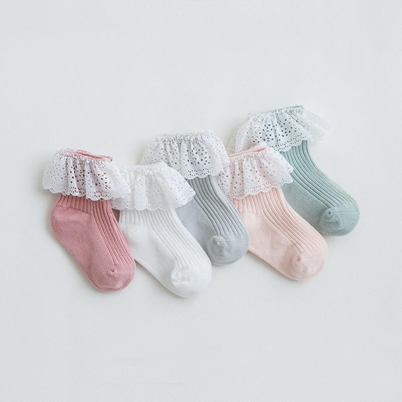 Infant Baby Socks Spring Summer Autumn Kids Socks Girls Princess Cotton Newborn Boy Toddler Socks Baby Clothes Accessories