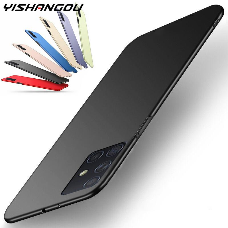 Shockproof Hard PC Matte Phone Case For Samsung Galaxy S20 Plus Ultra A70 A50 A30 A51 A71 A81 A91 A10S A20S A10 A20 A60|Fitted Cases|   - AliExpress