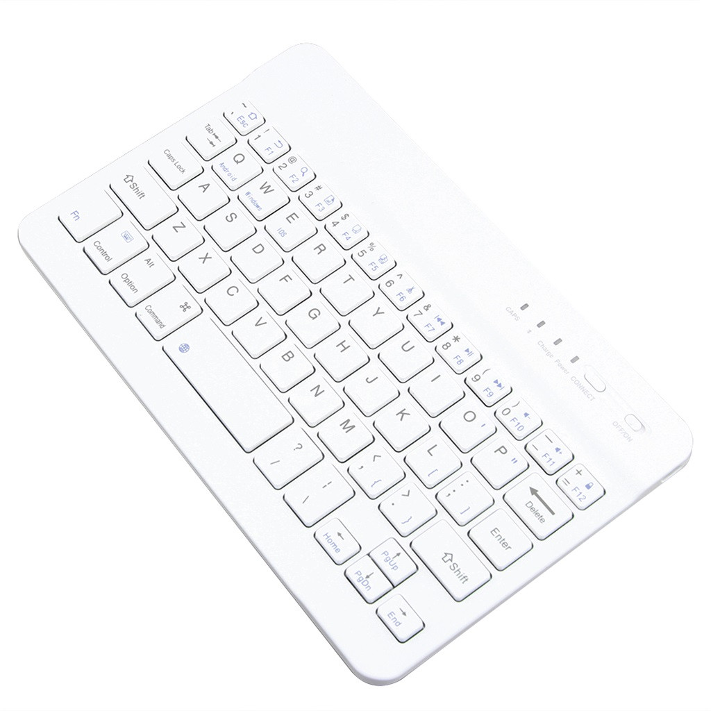 Seaintheson 78 Keys Slim Wireless Bluetooth Keyboard for iMac//iPad Android Phone Laptop Tablet PC