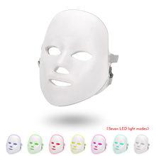 Светодиодный маска для лица Красота омоложения кожи Фотон светильник