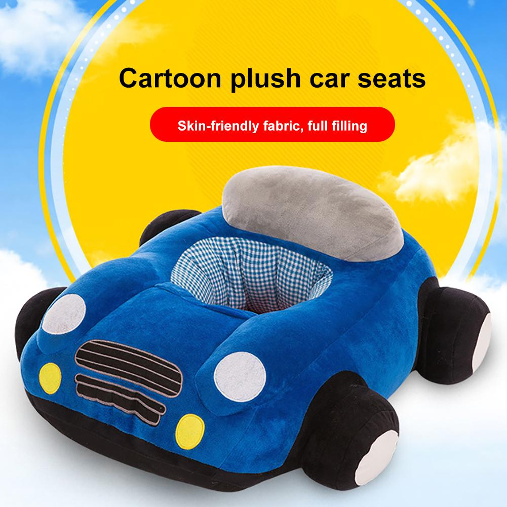 Colorful Design Attract Baby's Attention Colorful Baby Support Seat Plush Infant Sofa Learning Sit Keep Sitting Chair