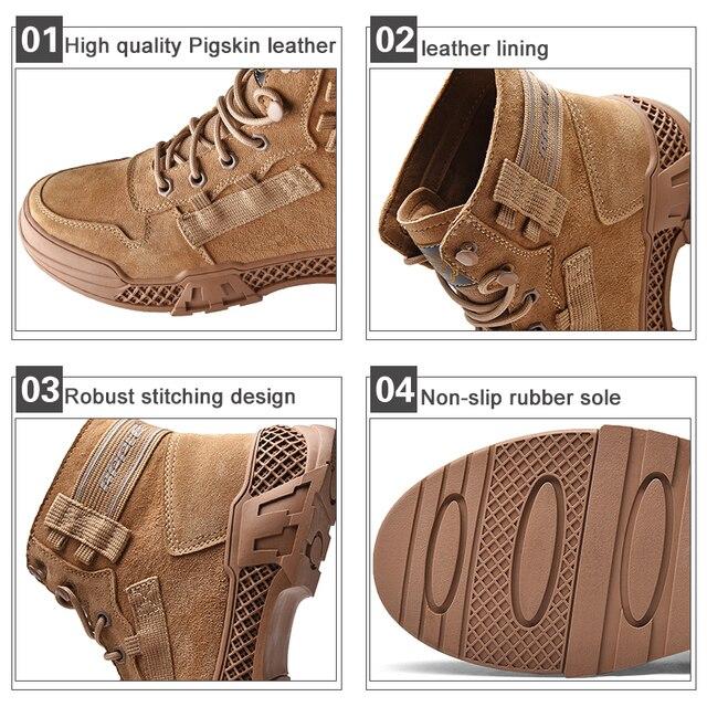 Фото мужские кожаные ботинки apple бренда новые модные высокие для цена