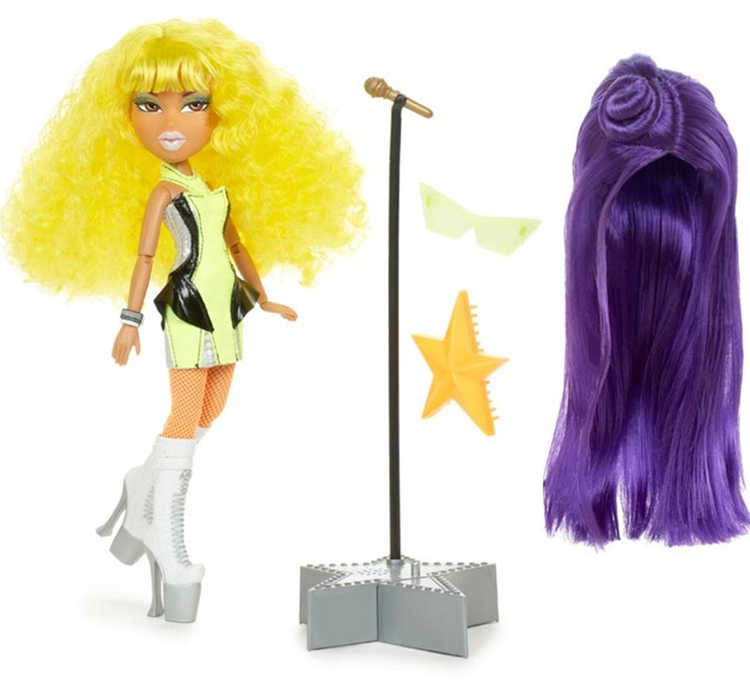 Original Bratz Dress Up Doll Starz Musica With Wig Set Doll Best Gift For Girl