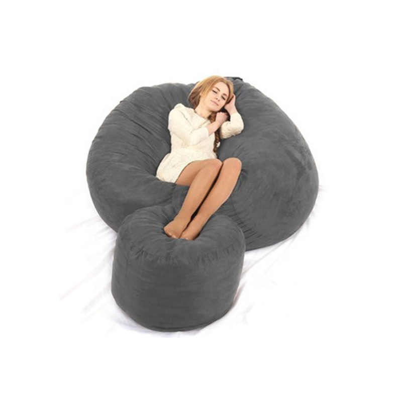 dropshipping 6ft unfilled foam love sac