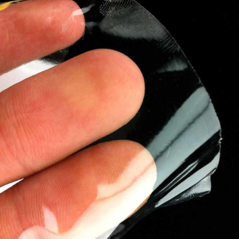 15cm x 1/2/3M Rhino skórka naklejka folia ochronna Vinyl Clear Transparence anti-brudna folia do Auto osłona zderzaka farba naklejka