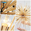 Modern LED Chandeliers Design for Living Room Bedroom Iron Indoor Lighting Fixture Design Creative Hanging Lamps Home Decoration promo
