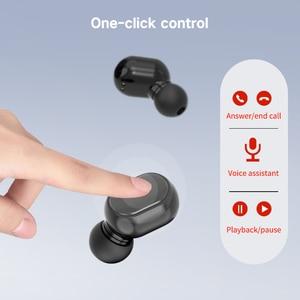 Image 3 - A7S TWS Bluetooth 5.0 אוזניות סטריאו אלחוטי אוזניות כפתור שליטה עמיד למים ספורט אוזניות עם טעינת תיבה
