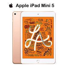 Apple – iPad Mini 5 2019 d'origine, version or 64 go, WiFi, écran Retina 7.9 pouces, puce A12, identification tactile, prend en charge Apple Pencil IOS