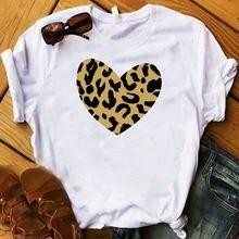 Летняя забавная женская футболка с коротким рукавом и принтом