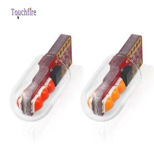 Image 2 - 100 sztuk T10 LED W5W oświetlenie tablicy rejestracyjnej 3030LED 3SMD z obiektywem Auto Wedge Turn Side żarówki wnętrze czytanie lampa kopułkowa hurtownie
